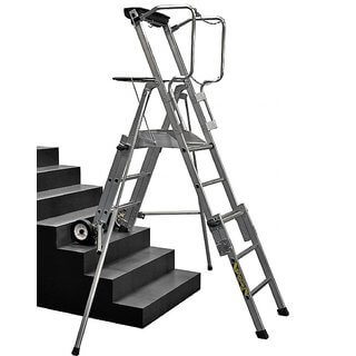 Telescopic Mobile Working Platform